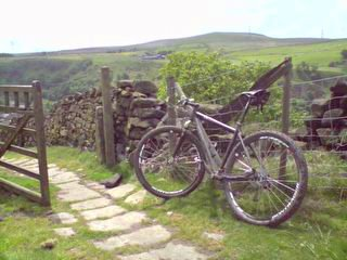 Mary Townley Loop - descent to Rochdale Rd