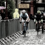 Cobbles in the rain