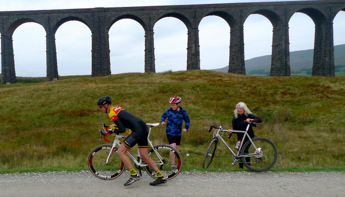 Blue Monday – coming back down from the Three Peaks Cyclocross