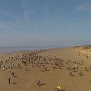 Beach race - battle on the beach