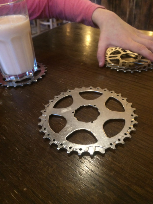 The Drop Off Café - Sprocket coasters