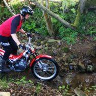 Trials bike Lancashire