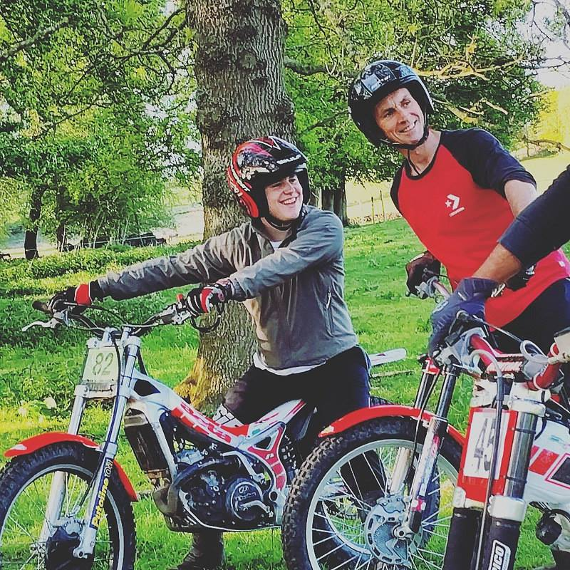 Trials bike family